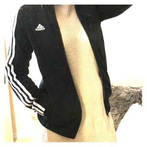 Adidas 3-stripe full-zip track jacket